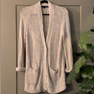 Italian Yarn Cardigan Sweater